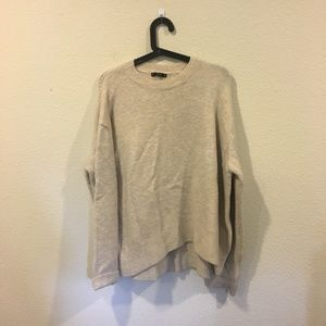 Zara knit light brown sweater